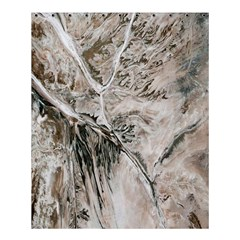 Earth Landscape Aerial View Nature Shower Curtain 60  X 72  (medium)  by Simbadda