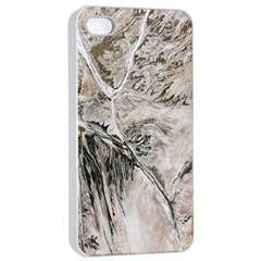 Earth Landscape Aerial View Nature Apple Iphone 4/4s Seamless Case (white) by Simbadda