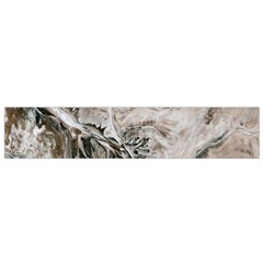 Earth Landscape Aerial View Nature Flano Scarf (small) by Simbadda