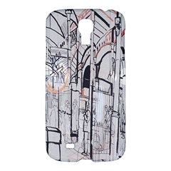 Cityscapes England London Europe United Kingdom Artwork Drawings Traditional Art Samsung Galaxy S4 I9500/i9505 Hardshell Case by Simbadda