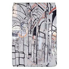 Cityscapes England London Europe United Kingdom Artwork Drawings Traditional Art Flap Covers (l)  by Simbadda