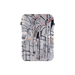 Cityscapes England London Europe United Kingdom Artwork Drawings Traditional Art Apple Ipad Mini Protective Soft Cases by Simbadda