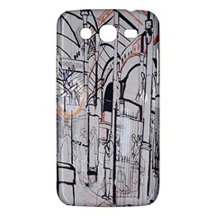 Cityscapes England London Europe United Kingdom Artwork Drawings Traditional Art Samsung Galaxy Mega 5 8 I9152 Hardshell Case  by Simbadda