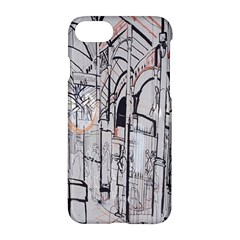 Cityscapes England London Europe United Kingdom Artwork Drawings Traditional Art Apple Iphone 7 Hardshell Case