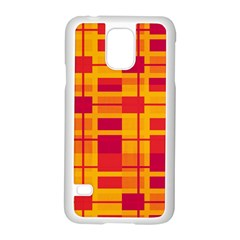 Pattern Samsung Galaxy S5 Case (white) by Valentinaart