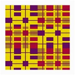 Pattern Medium Glasses Cloth (2 Side) by Valentinaart