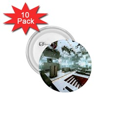 Digital Art Paint In Water 1 75  Buttons (10 Pack) by Simbadda