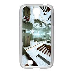 Digital Art Paint In Water Samsung Galaxy S4 I9500/ I9505 Case (white) by Simbadda