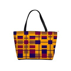 Pattern Shoulder Handbags by Valentinaart