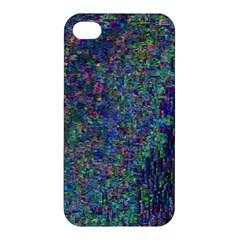 Glitch Art Apple Iphone 4/4s Premium Hardshell Case by Simbadda