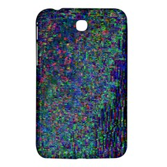 Glitch Art Samsung Galaxy Tab 3 (7 ) P3200 Hardshell Case  by Simbadda