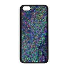 Glitch Art Apple Iphone 5c Seamless Case (black) by Simbadda