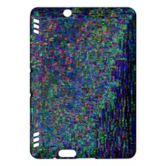 Glitch Art Kindle Fire Hdx Hardshell Case by Simbadda