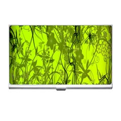 Concept Art Spider Digital Art Green Business Card Holders by Simbadda