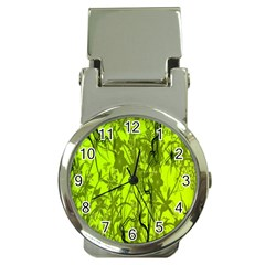 Concept Art Spider Digital Art Green Money Clip Watches