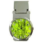 Concept Art Spider Digital Art Green Money Clip Watches Front
