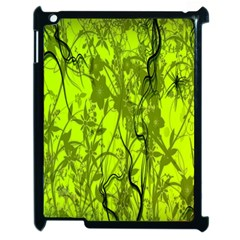 Concept Art Spider Digital Art Green Apple Ipad 2 Case (black) by Simbadda
