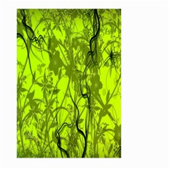 Concept Art Spider Digital Art Green Large Garden Flag (two Sides) by Simbadda