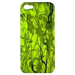 Concept Art Spider Digital Art Green Apple Iphone 5 Hardshell Case by Simbadda