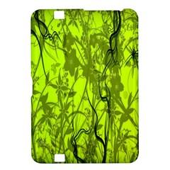 Concept Art Spider Digital Art Green Kindle Fire Hd 8 9  by Simbadda