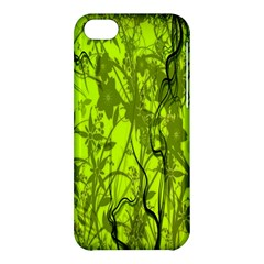Concept Art Spider Digital Art Green Apple Iphone 5c Hardshell Case by Simbadda