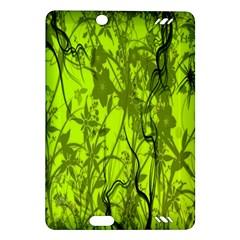 Concept Art Spider Digital Art Green Amazon Kindle Fire Hd (2013) Hardshell Case by Simbadda