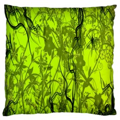 Concept Art Spider Digital Art Green Standard Flano Cushion Case (one Side) by Simbadda