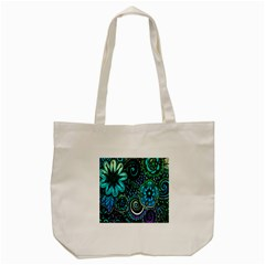 Sun Set Floral Tote Bag (cream) by Simbadda