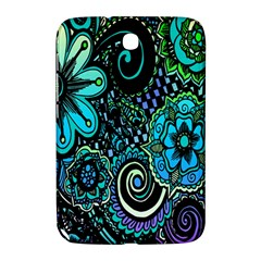 Sun Set Floral Samsung Galaxy Note 8 0 N5100 Hardshell Case  by Simbadda