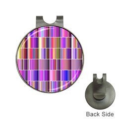 Plasma Gradient Gradation Hat Clips With Golf Markers by Simbadda