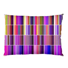 Plasma Gradient Gradation Pillow Case by Simbadda