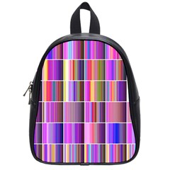 Plasma Gradient Gradation School Bags (small)  by Simbadda