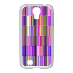 Plasma Gradient Gradation Samsung Galaxy S4 I9500/ I9505 Case (white) by Simbadda