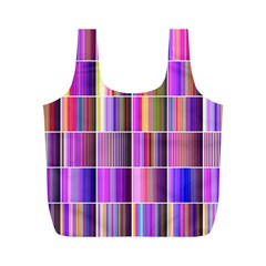 Plasma Gradient Gradation Full Print Recycle Bags (m)  by Simbadda