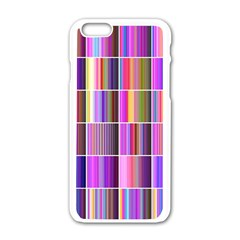 Plasma Gradient Gradation Apple Iphone 6/6s White Enamel Case by Simbadda