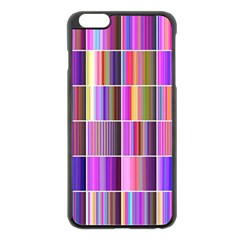 Plasma Gradient Gradation Apple Iphone 6 Plus/6s Plus Black Enamel Case by Simbadda