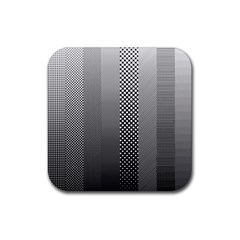 Semi Authentic Screen Tone Gradient Pack Rubber Coaster (square)  by Simbadda