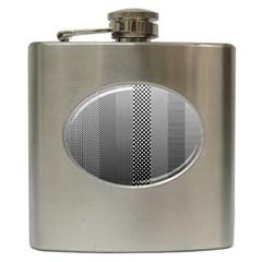 Semi Authentic Screen Tone Gradient Pack Hip Flask (6 Oz) by Simbadda