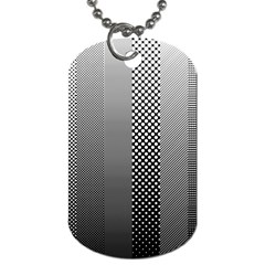 Semi Authentic Screen Tone Gradient Pack Dog Tag (two Sides) by Simbadda
