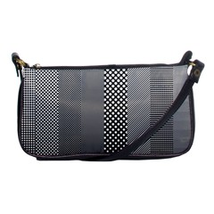 Semi Authentic Screen Tone Gradient Pack Shoulder Clutch Bags by Simbadda