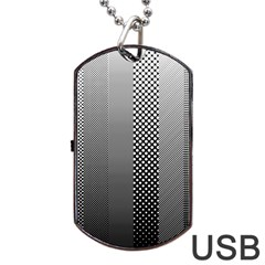 Semi Authentic Screen Tone Gradient Pack Dog Tag Usb Flash (one Side) by Simbadda