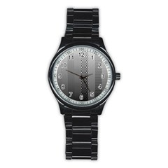 Semi Authentic Screen Tone Gradient Pack Stainless Steel Round Watch by Simbadda