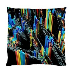 Abstract 3d Blender Colorful Standard Cushion Case (one Side)