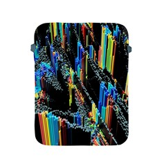 Abstract 3d Blender Colorful Apple Ipad 2/3/4 Protective Soft Cases by Simbadda