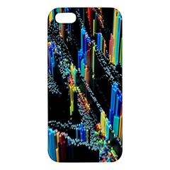 Abstract 3d Blender Colorful Iphone 5s/ Se Premium Hardshell Case by Simbadda