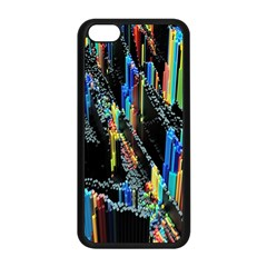Abstract 3d Blender Colorful Apple Iphone 5c Seamless Case (black) by Simbadda