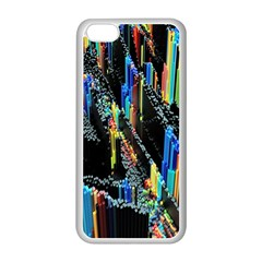 Abstract 3d Blender Colorful Apple Iphone 5c Seamless Case (white) by Simbadda
