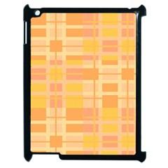 Pattern Apple Ipad 2 Case (black) by Valentinaart