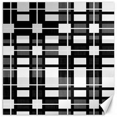 Pattern Canvas 16  X 16   by Valentinaart
