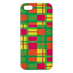 Pattern Apple Iphone 5 Premium Hardshell Case by Valentinaart